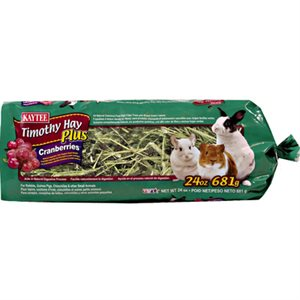 Natural Timothy Hay with Cranberries (24oz)