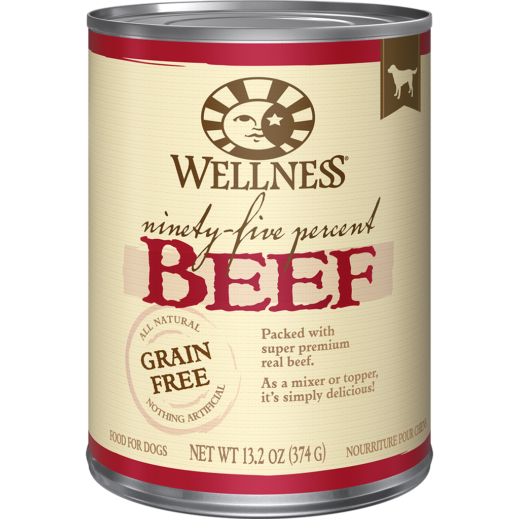 Wellness 95% Beef Mixer or Topper | Dog (13.2oz)