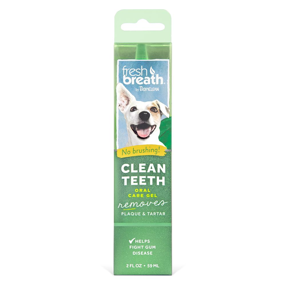 Tropiclean No Brush Clean Teeth Oral Care Gel