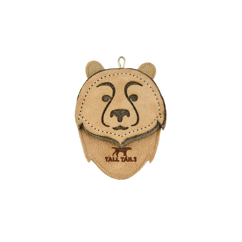 "Tall Tails Natural Leather Bear Chew (4"")"