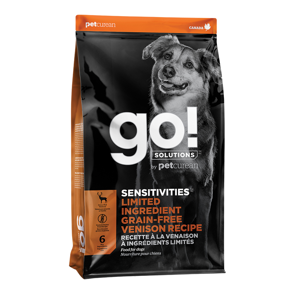 Go! Sensitivities Grain Free Venison | Dog (22 lbs)