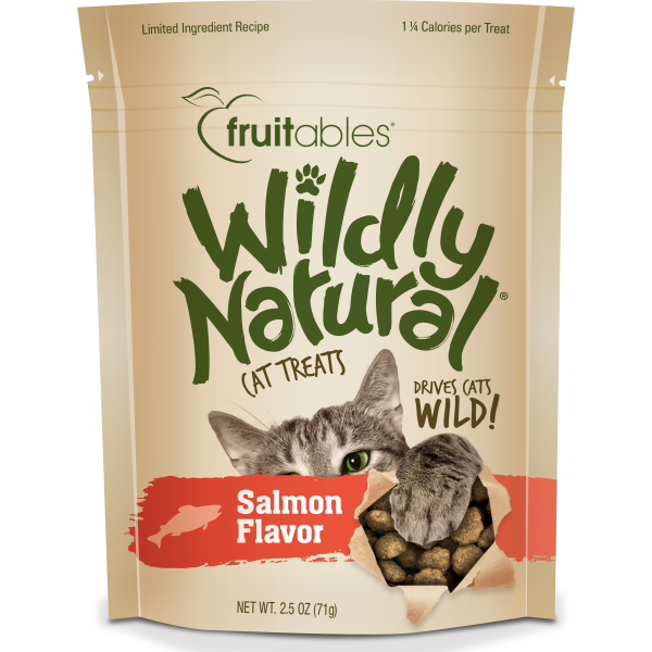 Fruitables Wildly Natural Salmon Cat Treats (71g)
