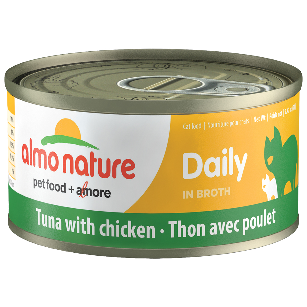 ALMO Tuna with Chicken in Broth | Cat (70g)
