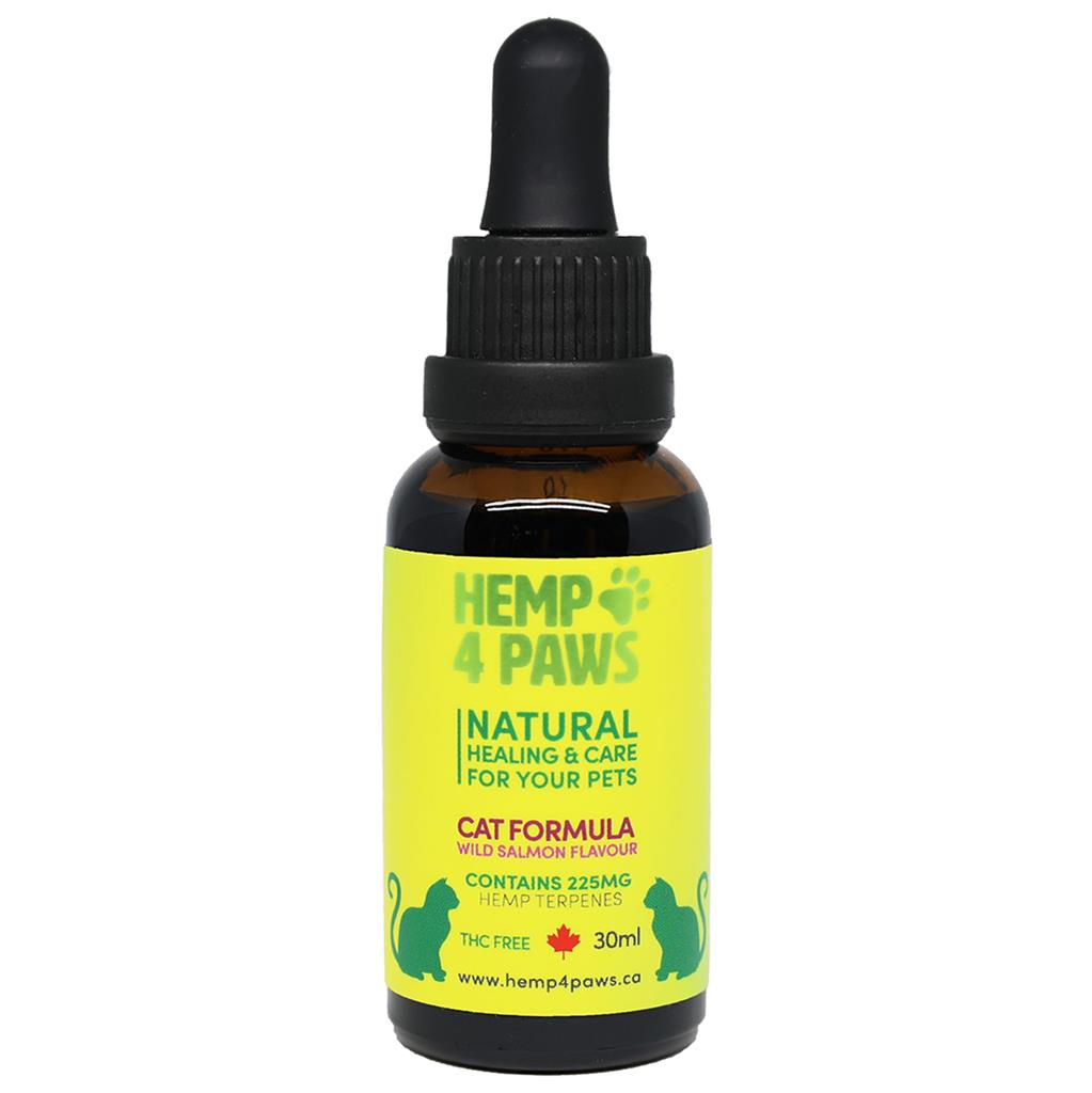 Hemp 4 Paws Hemp Seed Oil Wild Salmon Flavour | Cat (30ml)