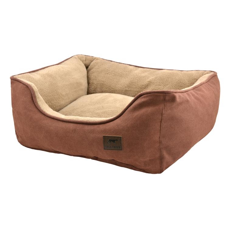 Tall Tails Bolster Bed (Brown)