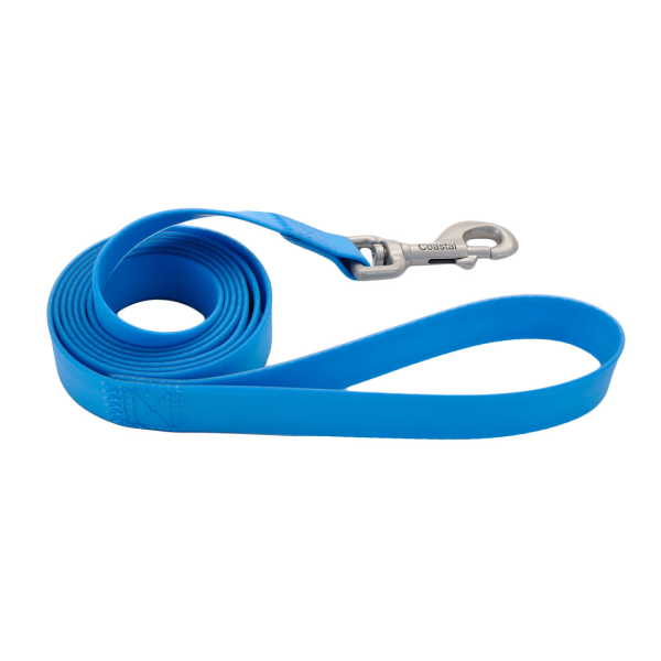 "Coastal Waterproof Leash Aqua (3/4""x6')"