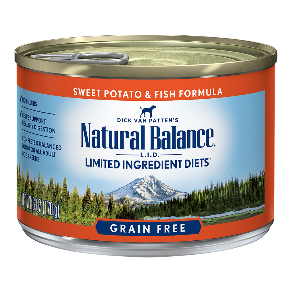 Natural Balance LID Fish & Sweet Potato | Dog