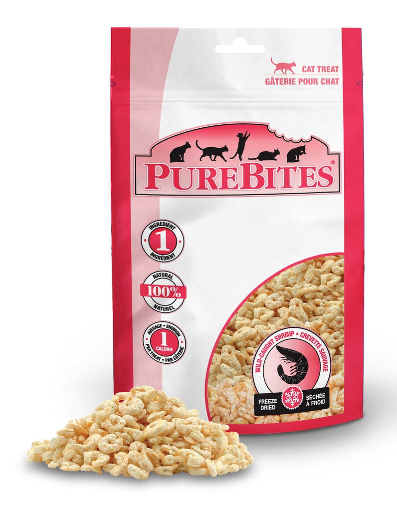 PureBites Shrimp Freeze Dried Raw Treats | Cat