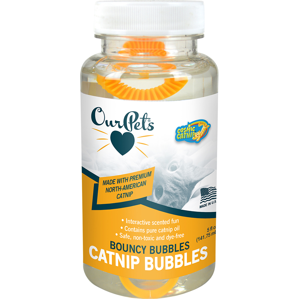 Cosmic Natural Catnip Bubbles (5oz)