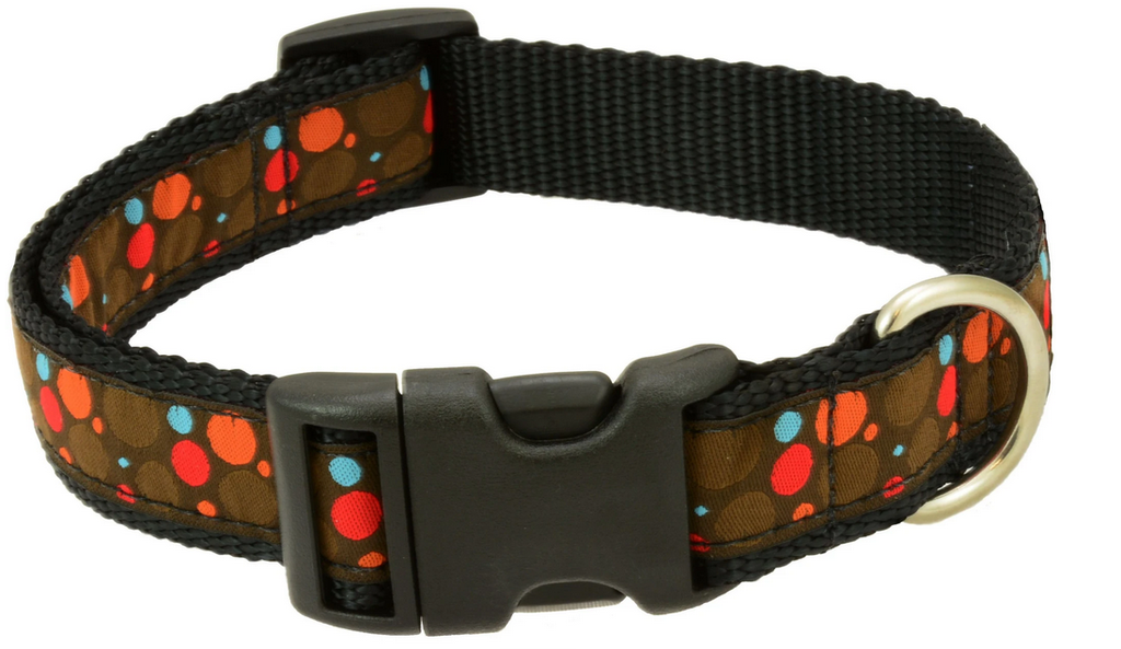 Silverfoot Dog Collar - Pebbles Brown (PB8)