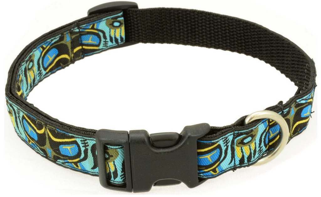 Silverfoot Dog Collar - Pacific Otter Blue (PO2)