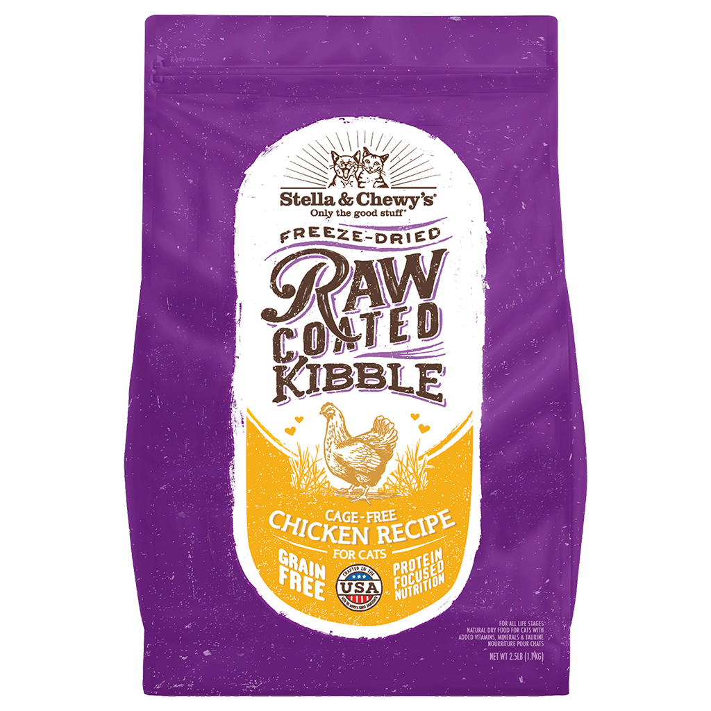 Stella & Chewy's Freeze Dried Raw Coated Chicken Recipe | Cat