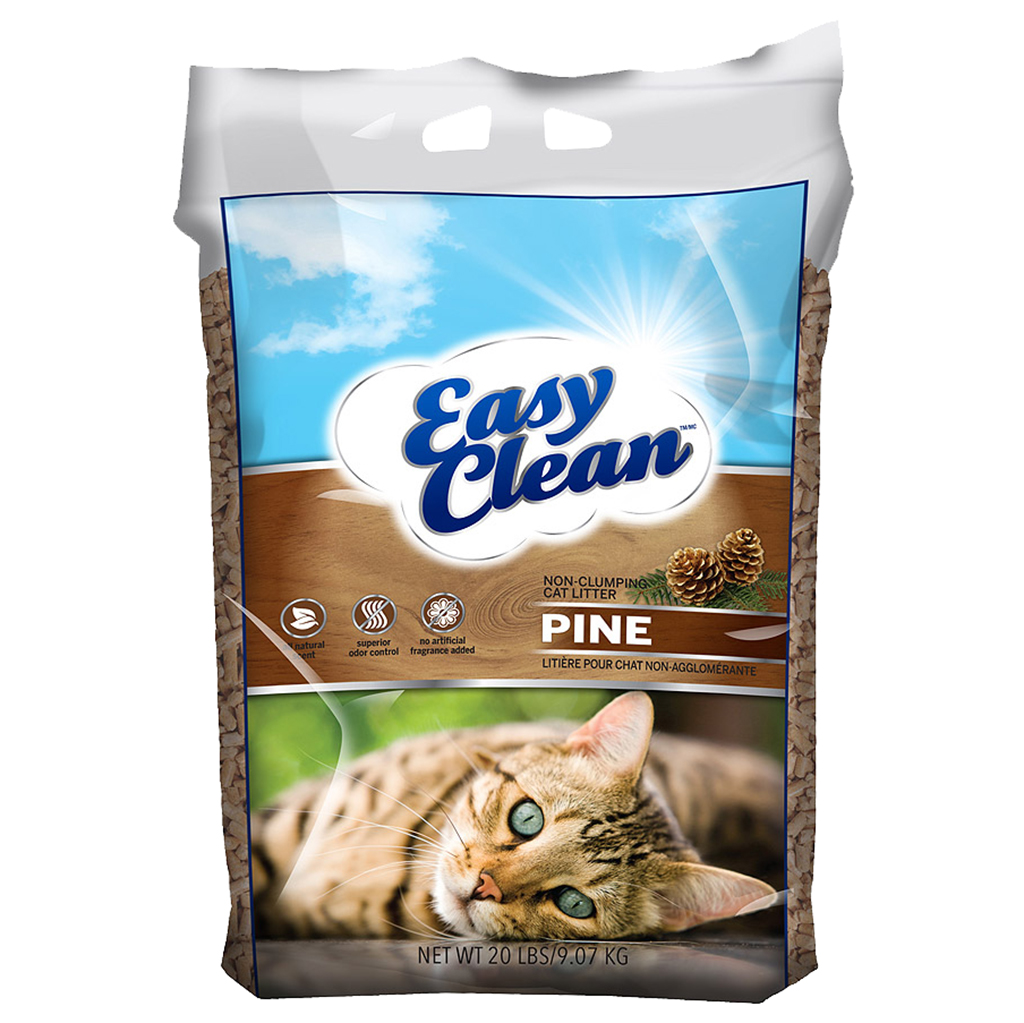 Easy Clean Pine Pellet Litter (20 Lbs)