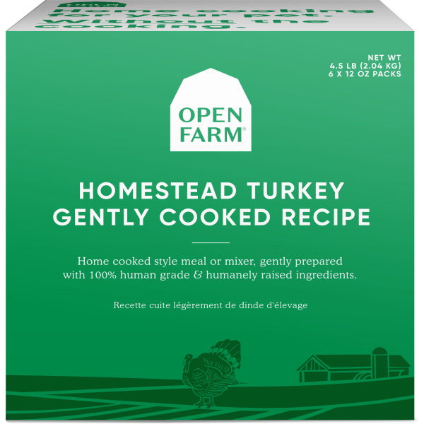 Open Farm Gently Cooked Homestead Turkey Recipe | Dog