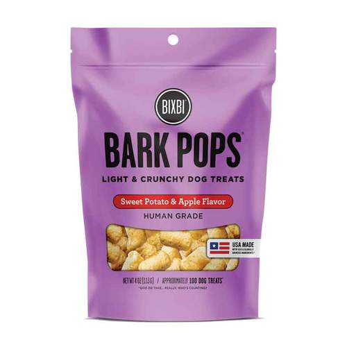 Bixbi Bark Pops - Sweet Potato and Apple (4oz)