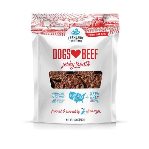 Farmland Traditions Dogs Love Beef Jerky (5oz)