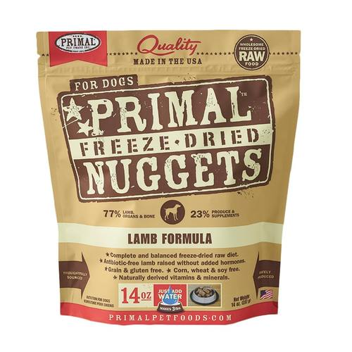 Primal Freeze Dried Nuggets - Lamb | Dog (14oz)