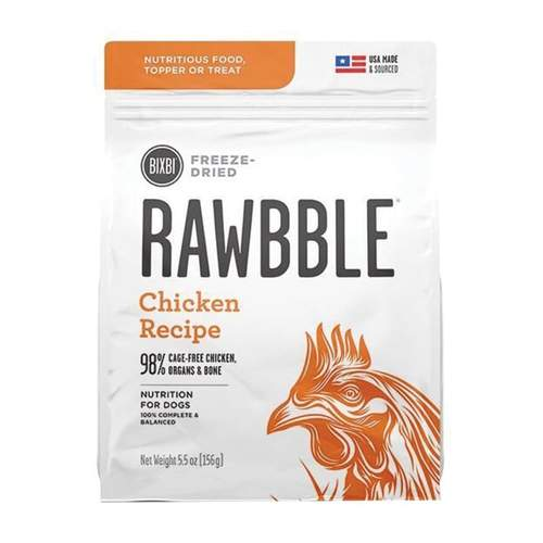 Bixbi Rawbble Freeze Dried Chicken Recipe | Dog