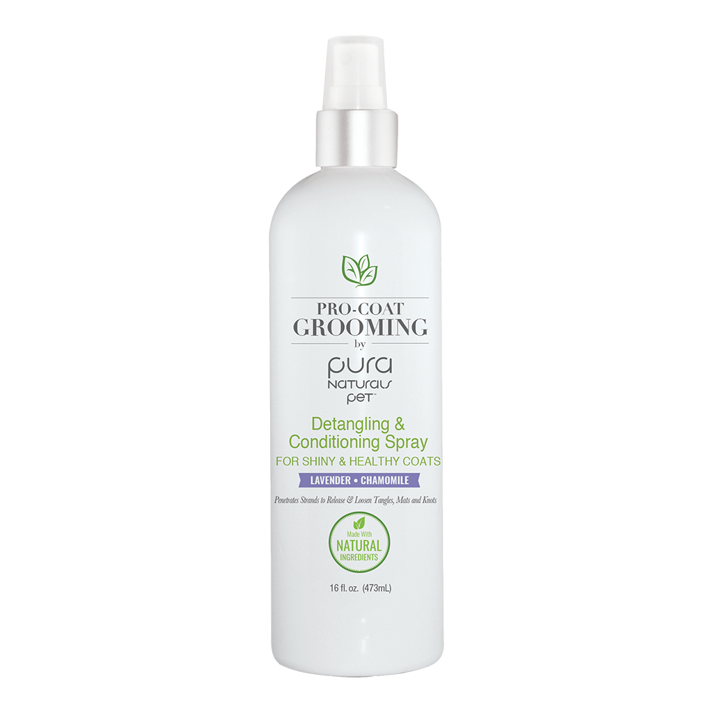 Pura Natural Lavender Detangling & Conditioning Spray (16oz)
