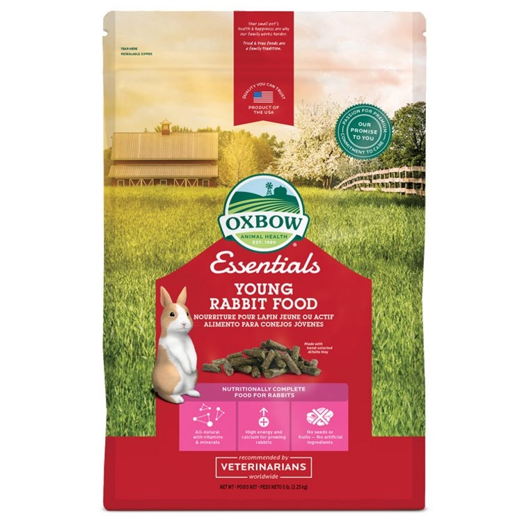 Oxbow Essentials Young Rabbit Food (2.27kg)
