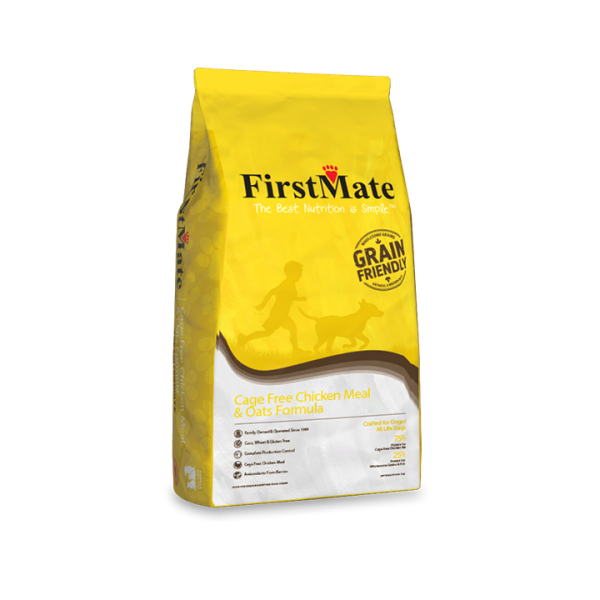 FirstMate Grain Friendly Chicken Meal & Oats | Dog