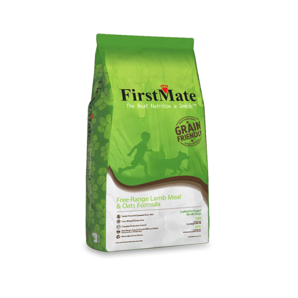 FirstMate Grain Friendly Free Range Lamb & Oats | Dog
