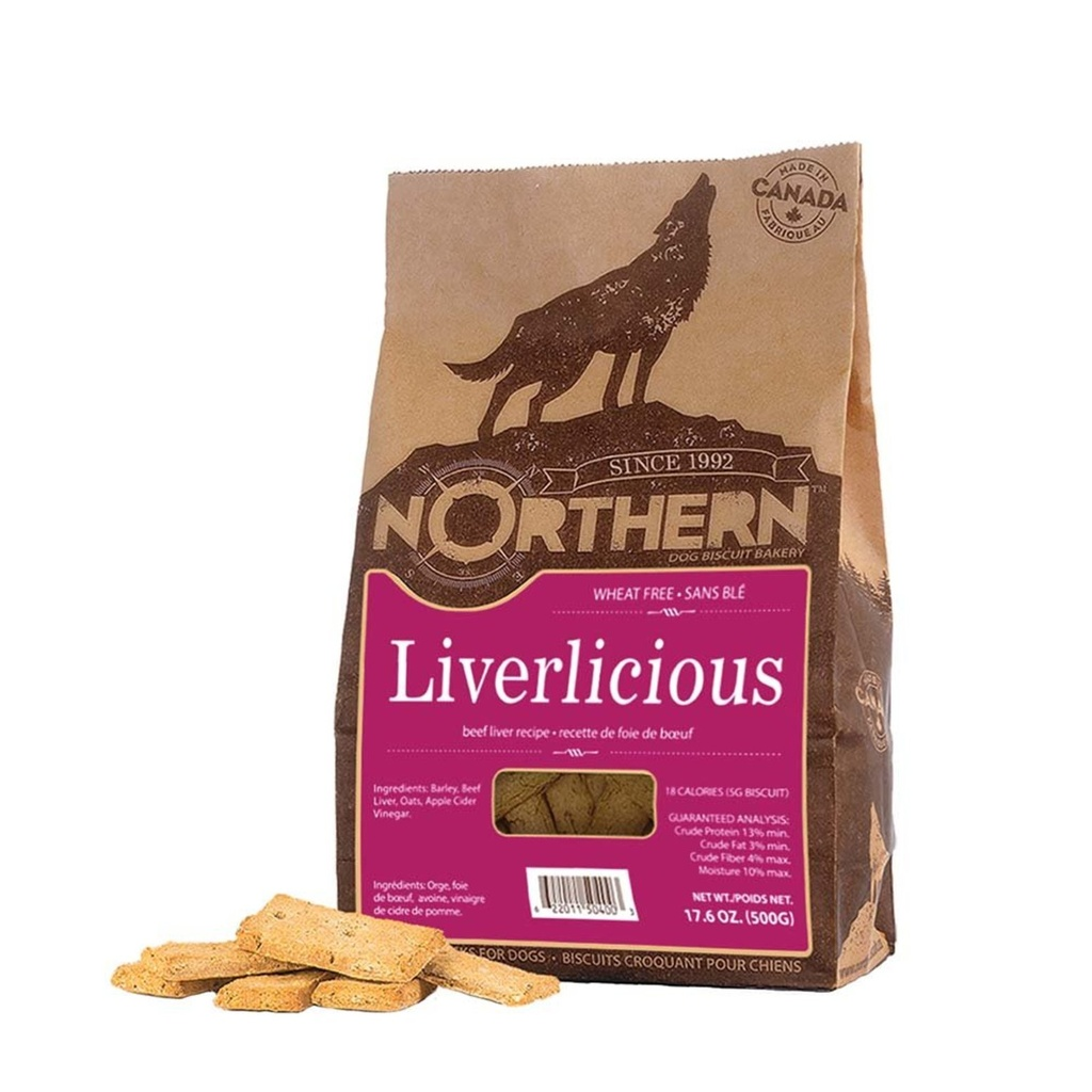 Northern Biscuit Wheat Livericious | Dog (500g)