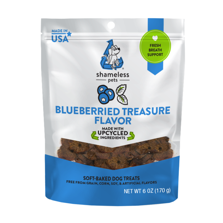 Shameless Pets Upcycled Treats - Blueberried Treasure (170g)
