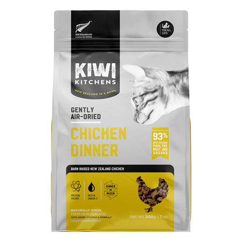 Kiwi Kitchens Gently Air Dried Chicken Dinner | Cat