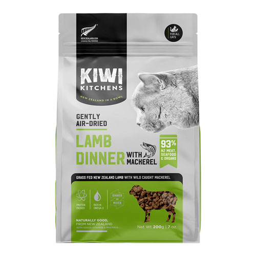 Kiwi Kitchens Gently Air Dried Lamb & Mackerel Dinner | Cat