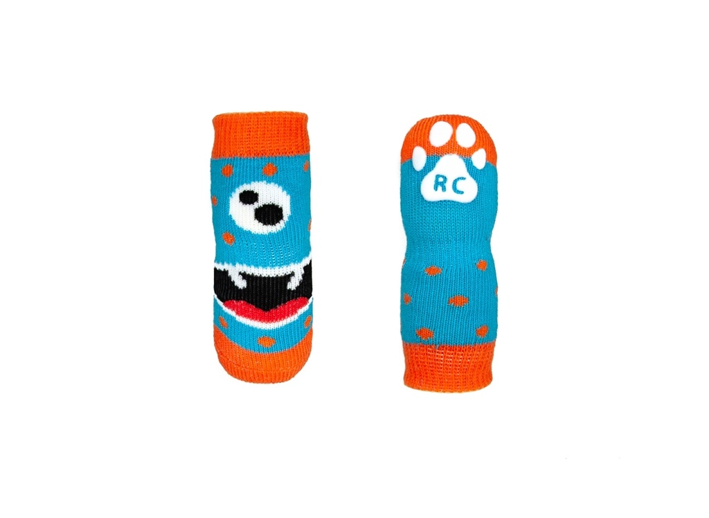 RC Pets Pawks Dog Socks (Hangry Monster)