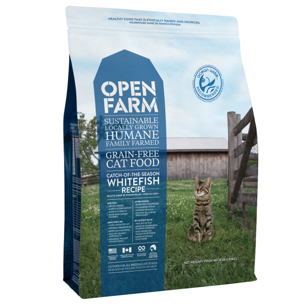 Open Farm Catch of Season Whitefish | Cat