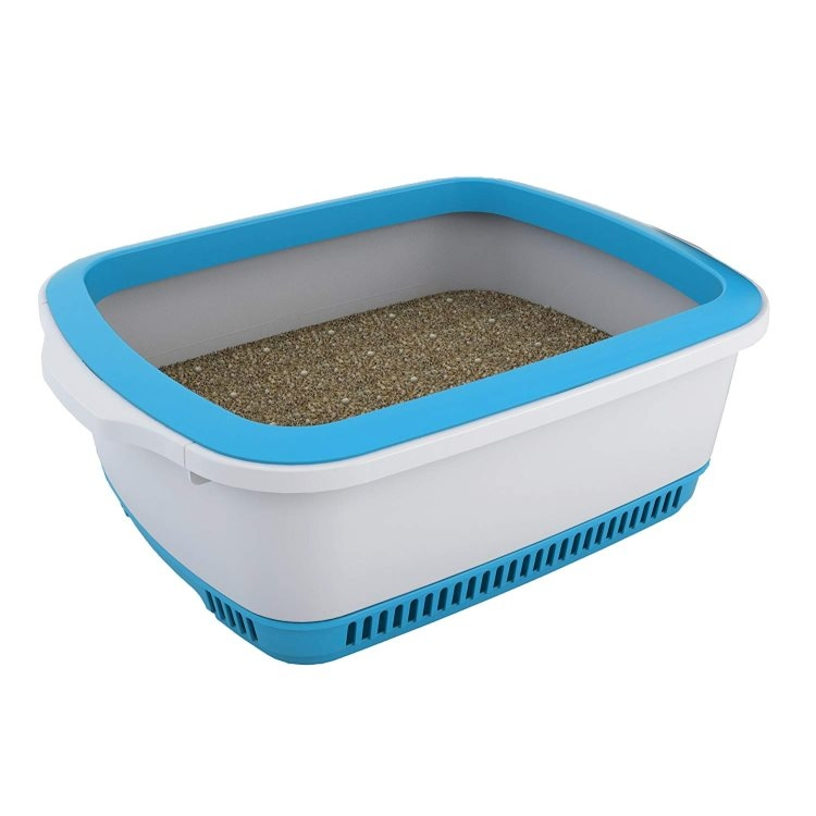 Cateco Odour Proof Litter Box (Blue)