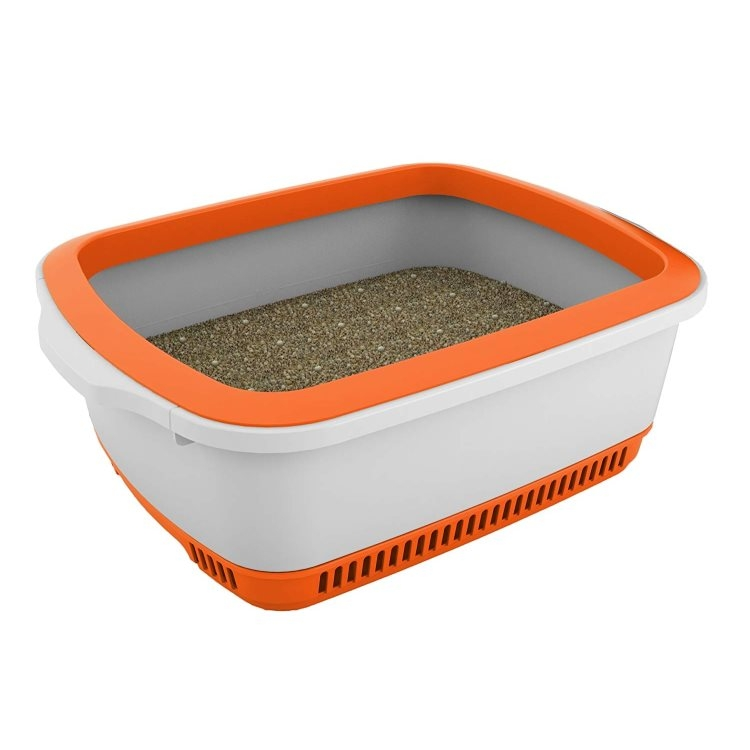 Cateco Odour Proof Litter Box (Orange)