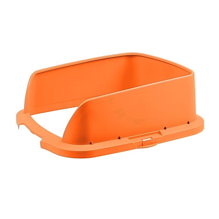 Cateco Odour Proof Litter Box Extension (Orange)