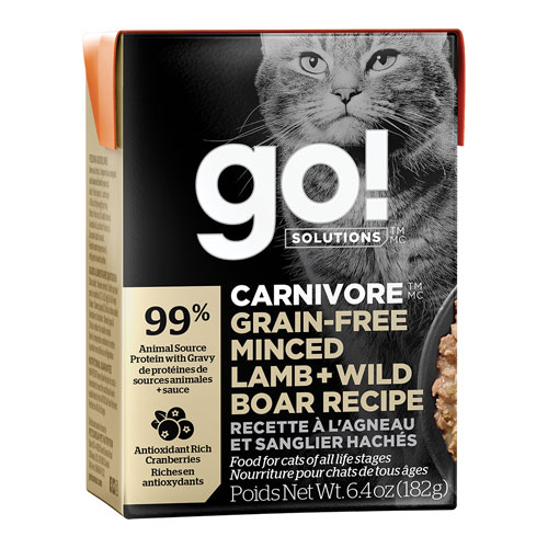 Go! Carnivore Minced Lamb & Boar | Cat (6.4oz)
