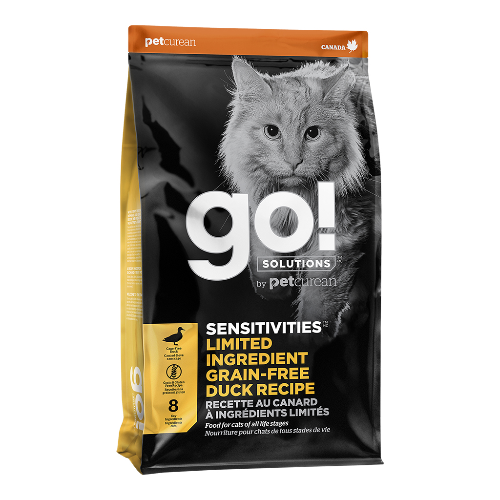 Go! Sensitivities Limited Ingredient Duck Recipe | Cat (8 Lbs)