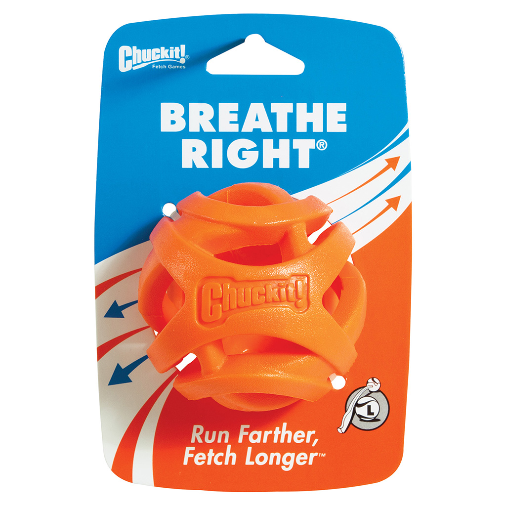 Chuckit! Breathe Right Fetch Ball (Large)