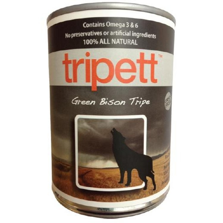 Tripett Green Bison Tripe | Dog (14oz)