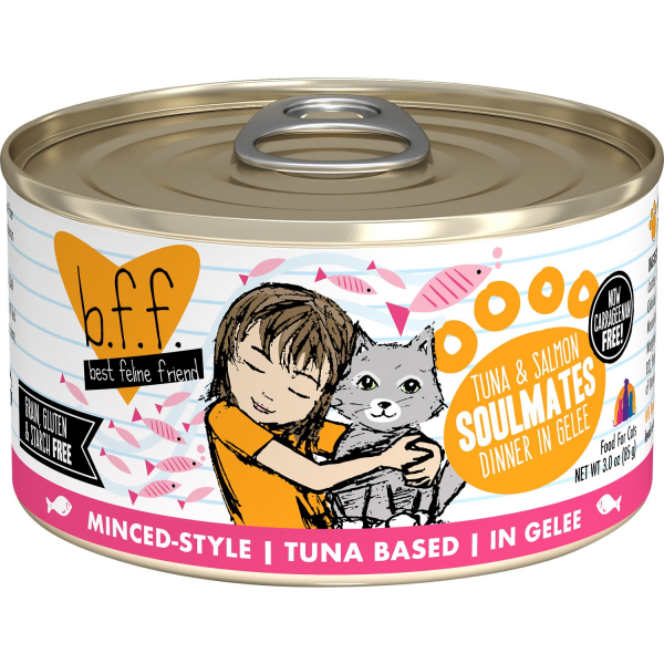 BFF Tuna & Salmon Soulmates | Cat (3oz)