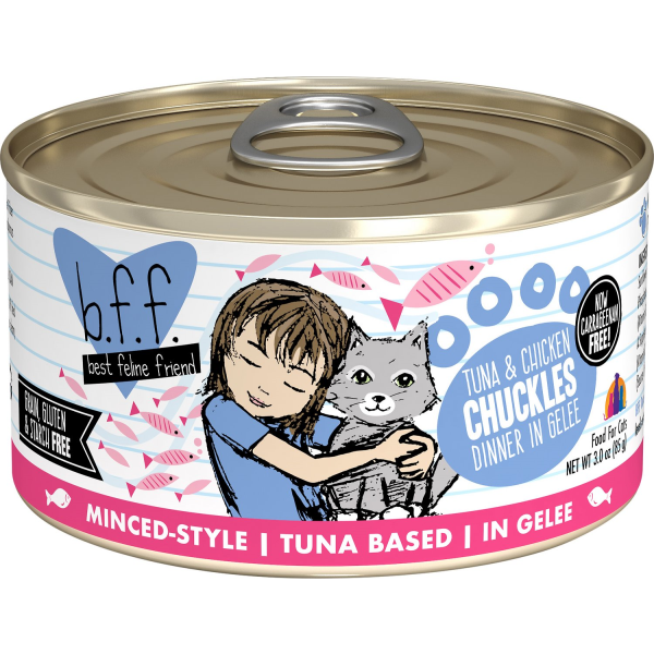 BFF Tuna & Chicken Chuckles | Cat (3oz)