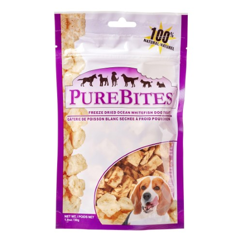 Purebites Whitefish Freeze-Dried Raw Treats | Dog