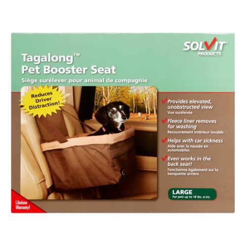 Solvit Pet Booster Seat (Standard, Large)