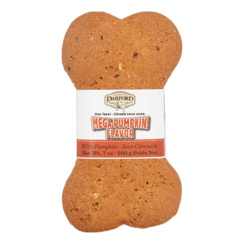 Mega Bone Pumpkin Breath Beater Dog Treat