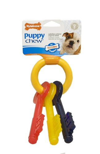 Teething Keys for Puppies (Up to 25 lbs)