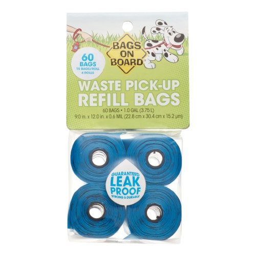Bag's on Board Waste Pick Up Bags (60 Count)