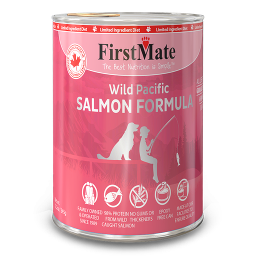 FirstMate Wild Pacific Salmon | Dog (12.5oz)