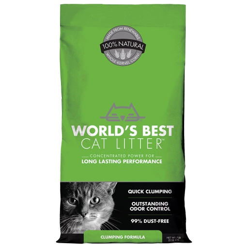 World's Best Cat Litter Unscented (7Lbs)