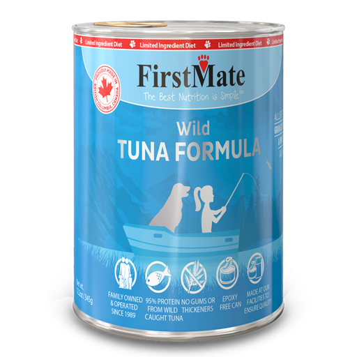 FirstMate Wild Tuna | Dog (12.5oz)