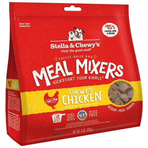 Stella & Chewy's Chicken Freeze Dried Meal Mixers | Dog
